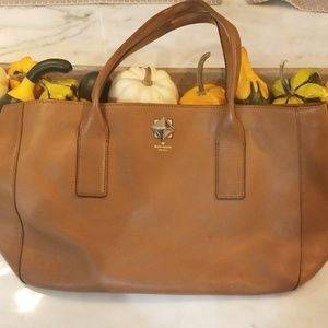 KATE SPADE Camel Large Purse